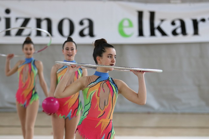 Maila bikaina gimnasia erritmikoko txapelketan - 14