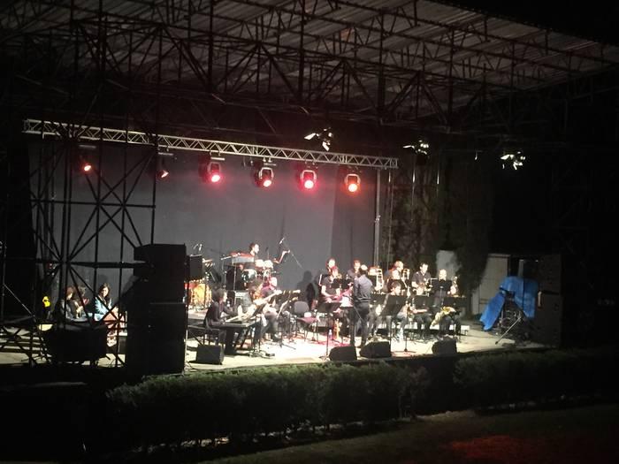 Arrasate Musikaleko Big Band taldea Leintz Gatzagan