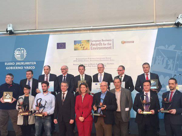 Europako bi ingurumen sari irabazi ditu Rebattery enpresak