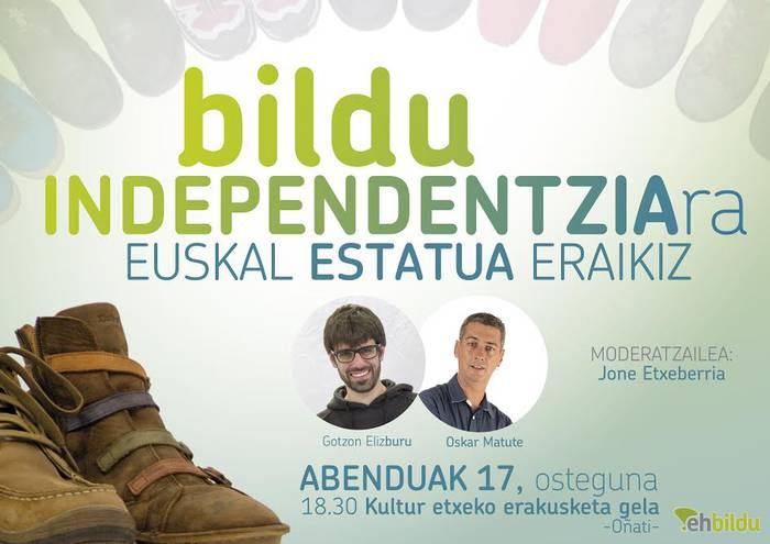 Hitzaldia: Euskal Estatua eraikiz!
