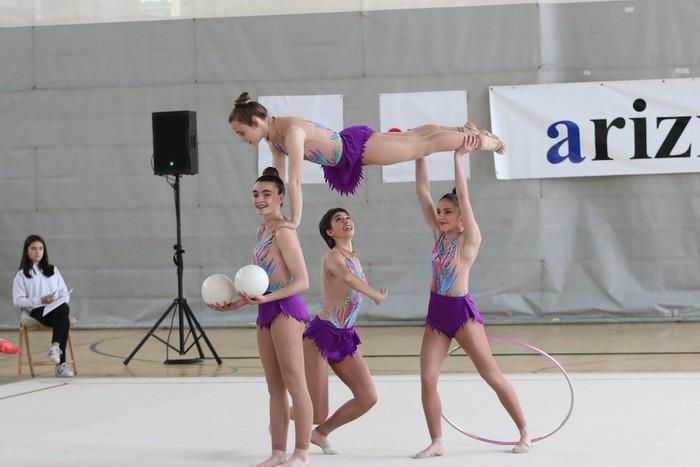 Maila bikaina gimnasia erritmikoko txapelketan - 46