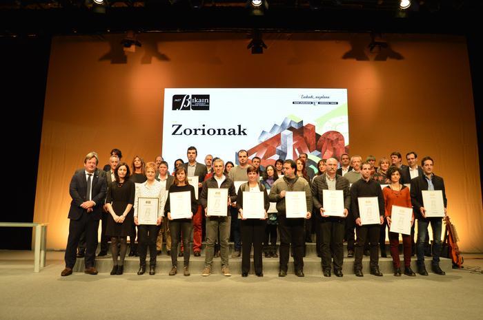 Urrezko Bikain ziurtagiria jaso dute Goizperrek eta Matz-Errekak