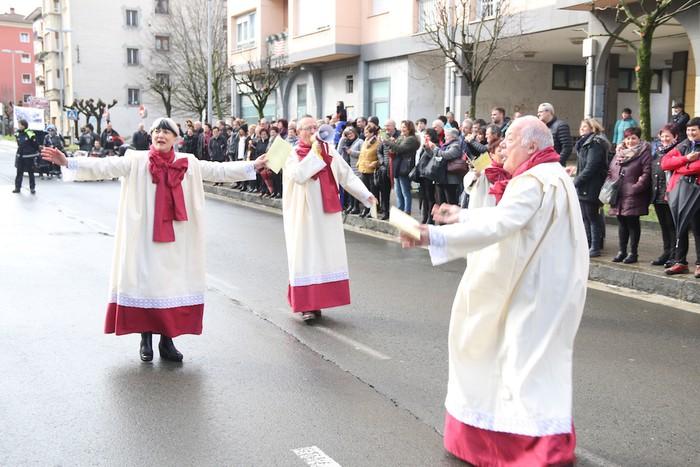 Inauterietako desfilea Aretxabaletan - 41