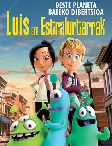 'Luis eta estralurtarrak' filma, gaztetxoendako
