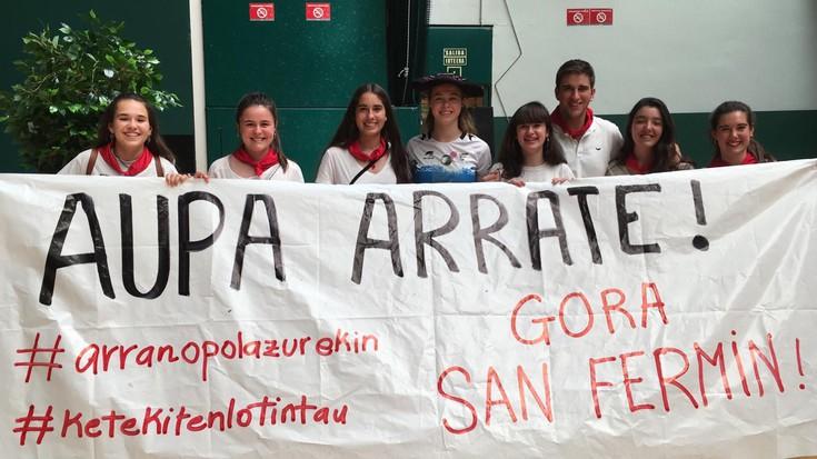Arrate Bergarak San Fermin Torneoa irabazi du Katixa Agorretarekin batera