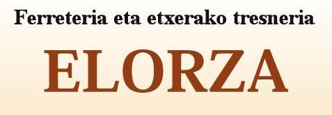 Elorza burdindegia logotipoa