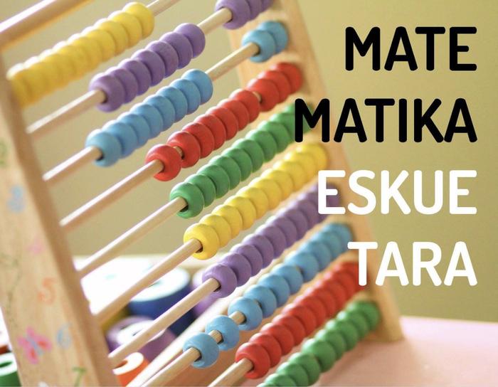'Matematika eskuetara' saioa izango da Kukumiku guraso elkartean