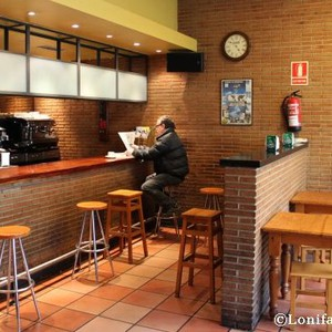 Karta edo menu bereziarekin kafea doan