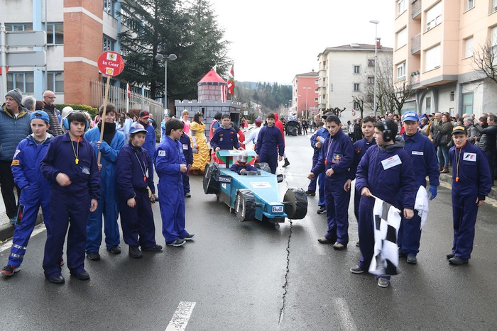 Inauterietako desfilea Aretxabaletan - 35