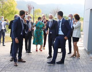 Espainiako atzerri ministroa, Arancha Gonzalez Laya, Wolfratex-en izan da bisitan