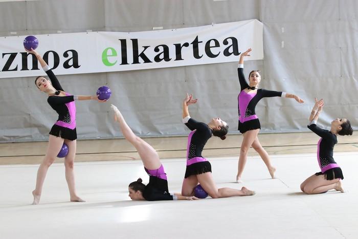 Maila bikaina gimnasia erritmikoko txapelketan - 38