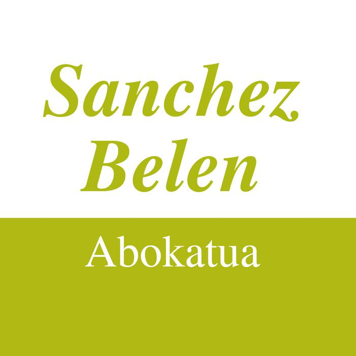 Sanchez Belen abokatua logotipoa