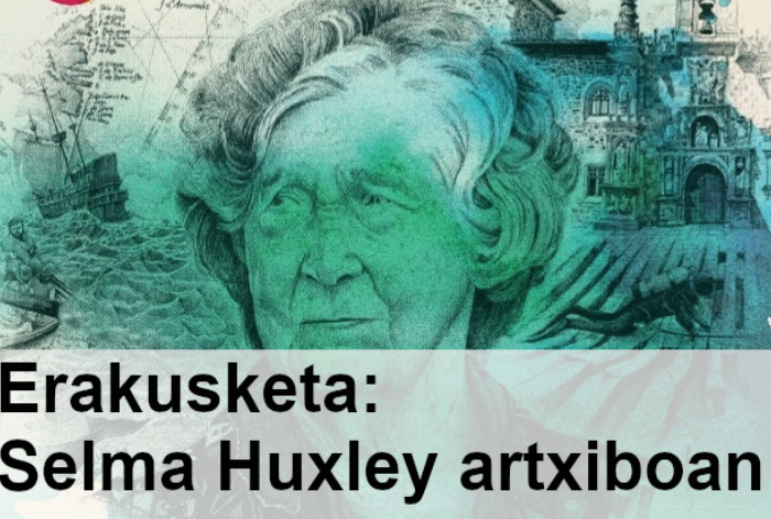 Selma Huxleyren lana birtualki ikusteko eran dago