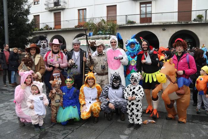 Inauterietako desfilea Aretxabaletan - 105