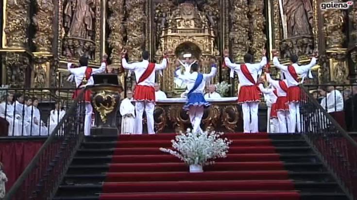 San Migel parrokiako banakoa osorik