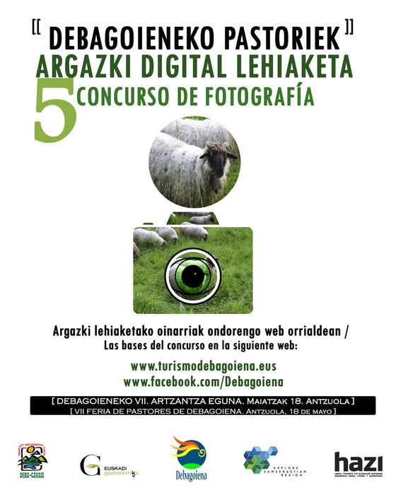 """""""DEBAGOIENEKO PASTORIEK"""" 5. ARGAZKI DIGITAL LEHIAKETA"""