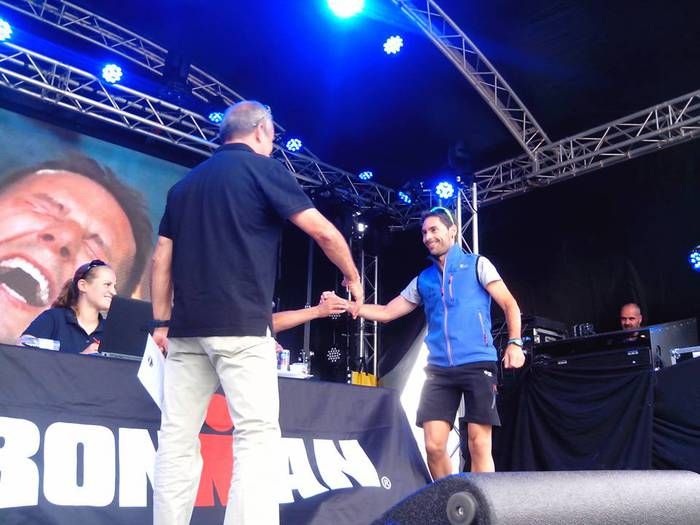 Aritz Kortabarriak Hawaiiko Ironman proban lehiatzeko txartela eskuratu du Holandan