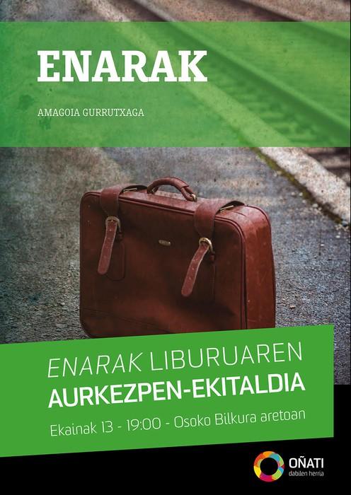 'Enarak' liburua aurkeztuko du Udalak eguenean