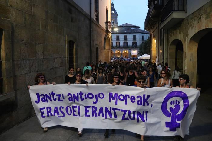 Aldarrikapen feminista plazaratzeko eguna bihar, zapatua, Oñatin