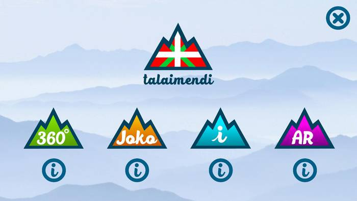 Euskal Herriko mendiak ezagutzeko aplikazioa da Talaimendi