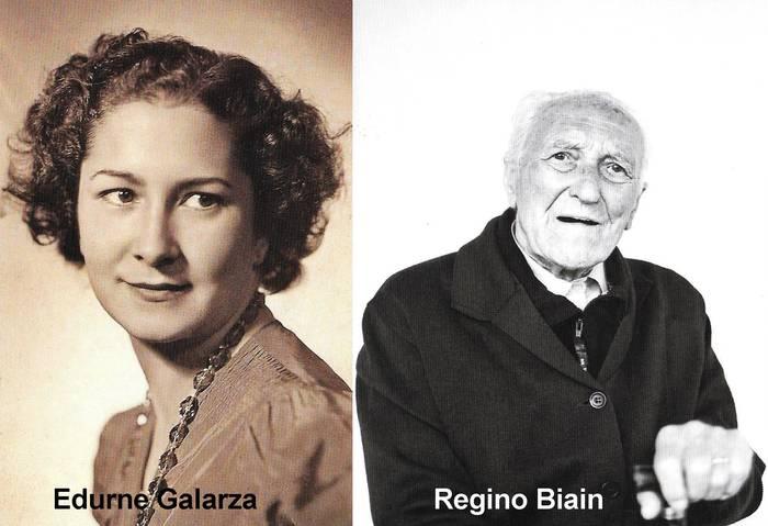 Edurne Galartza eta Regino Biain oñatiarrak omenduko dituzte egubakoitzean batzokian