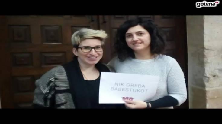 Aramaioko mugimendu feministaren bideoa, Martxoaren 8aren harira