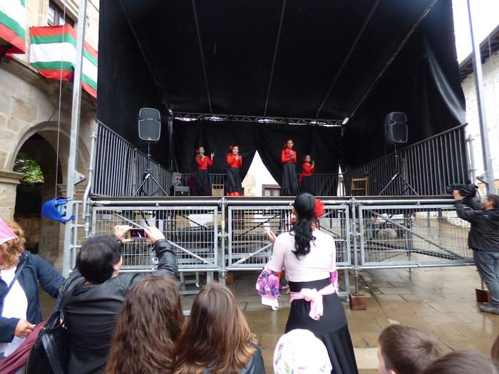 Ikusmina sortu du Maledantza taldeak flamenko erakustaldiarekin - 22