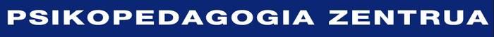 Psikopedagogia Zentroa logotipoa