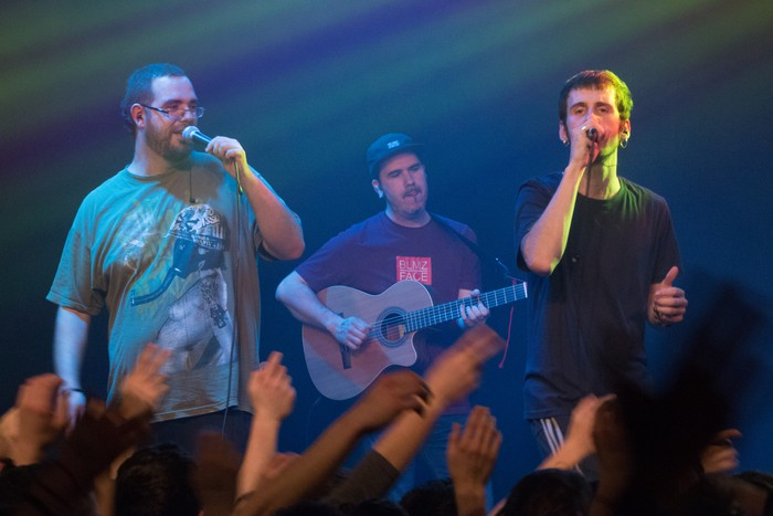 Oñatiko gaztelekua lepo, Lágrimas de Sangre talde kataluniarrarekin