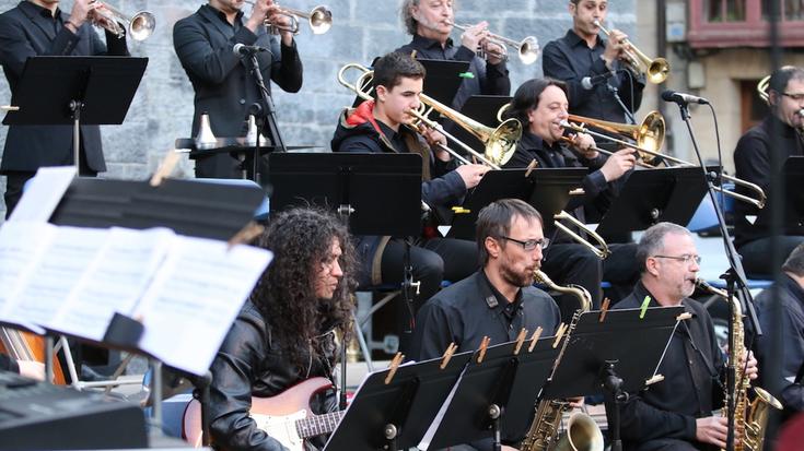 Arrasate musikaleko Big Band taldeak kontzertua eskainiko du hilaren 29an
