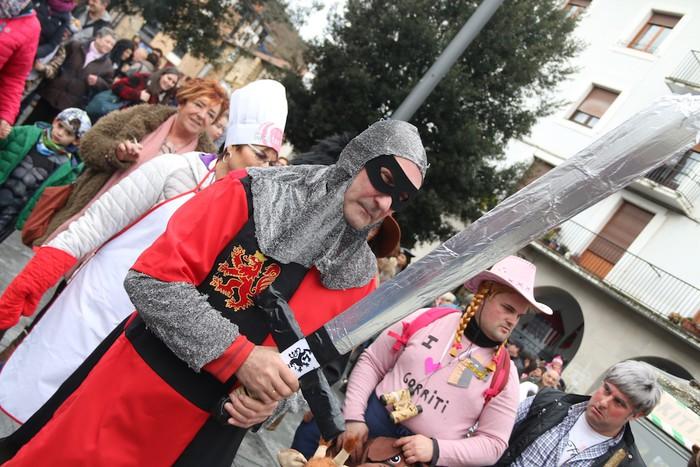 Inauterietako desfilea Aretxabaletan - 104