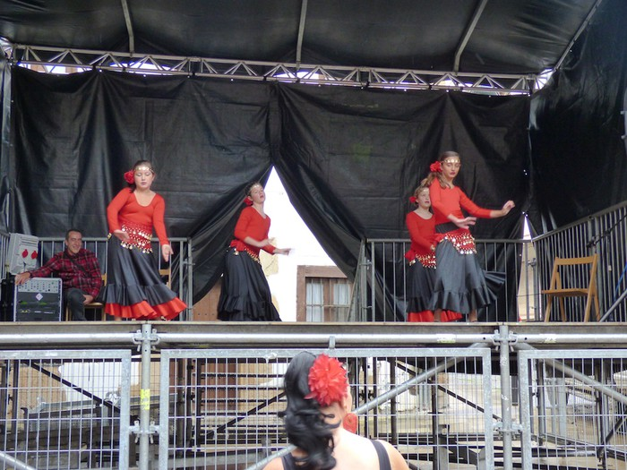 Ikusmina sortu du Maledantza taldeak flamenko erakustaldiarekin - 1