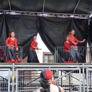 Ikusmina sortu du Maledantza taldeak flamenko erakustaldiarekin