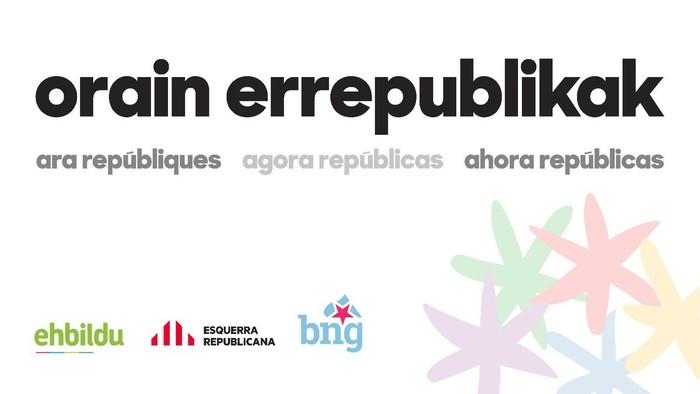 EH Bildu eta ERC elkarrekin aurkeztuko dira apirilaren 28ko Espainiako hauteskundeetara