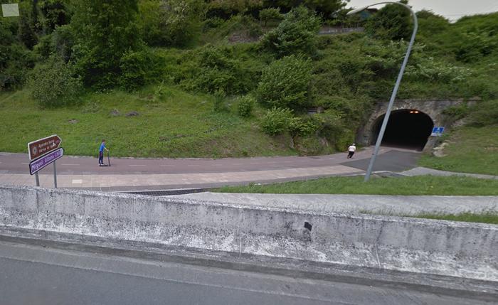 Gabiriako tunela itxita egongo da, bihartik hilabete bukaerara bitartean