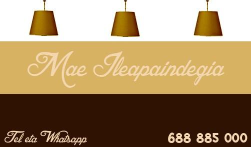 Mae ile apaindegia logotipoa