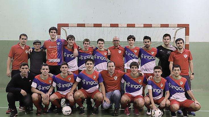 Bigarren mailan jokatuko du Ingou Aloña areto futbol taldeak