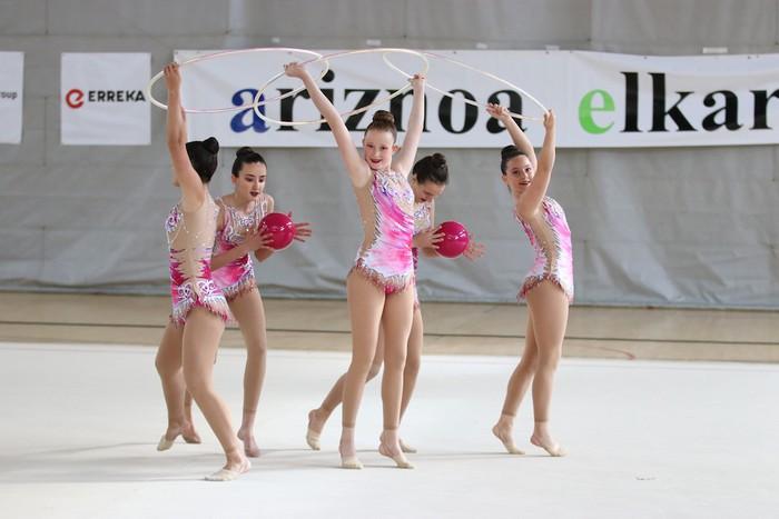 Maila bikaina gimnasia erritmikoko txapelketan - 12