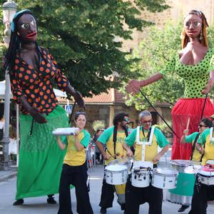 Afro Sound System, batukada dantzagarria