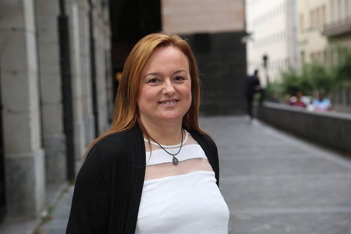 Maria Eugenia Iparragirrek Nazioarteko Europako Mugimenduaren Kontseiluari adierazi dio Euskadik Europako Batasunean parte hartze eraginkorra izan behar duela