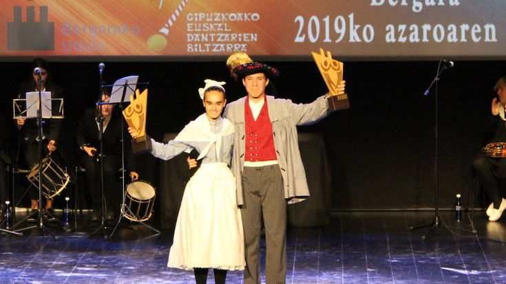 Maren Galvez eta Gorka Granado, Euskal Herriko dantza solteko bikote gazte txapelduna