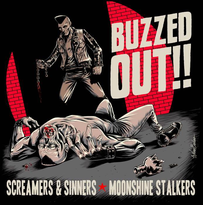 Screamer&Sinners taldearen bi kantu, disko partekatuan