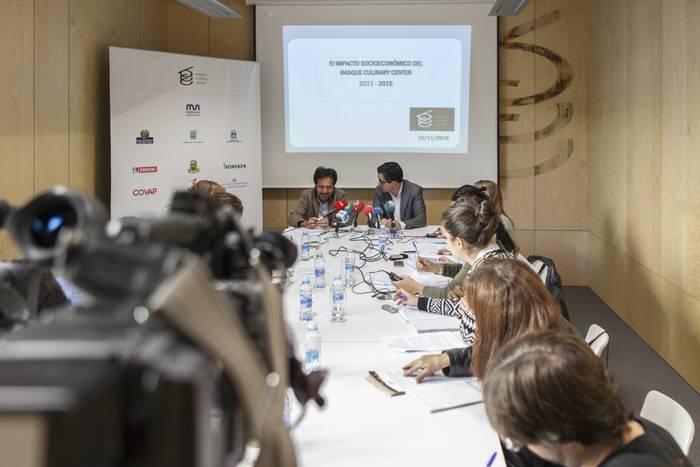 Basque Culinary Centerrek 45 milioi euro sorrarazi dituela dio txosten batek