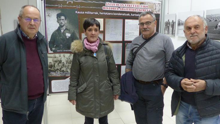 'Antzuolan ezkutatutako historia', erakusketa