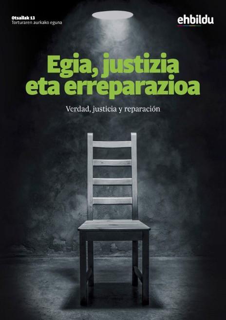 Otsailak 13, Torturaren Aurkako Eguna: Egia, Justizia eta Erreparazioa