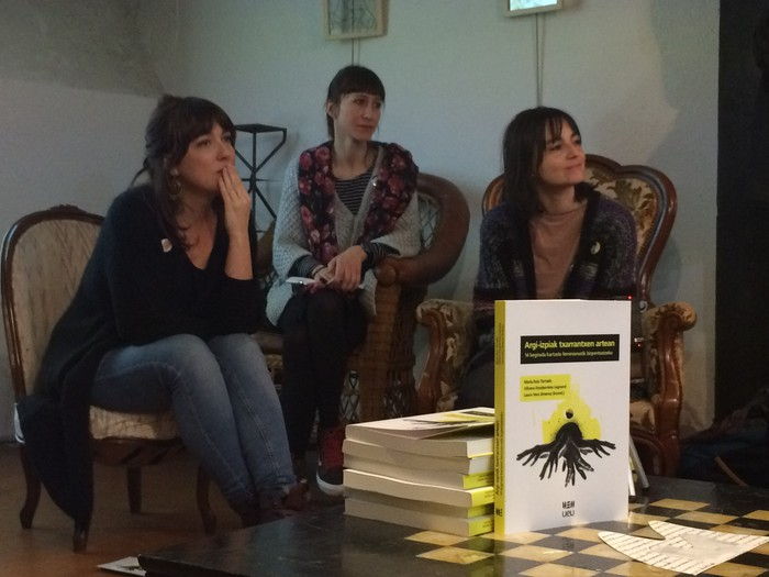 Preso emakumezkoen bizipenak jasotzen dituen liburua aurkeztuko dute Kulturaten