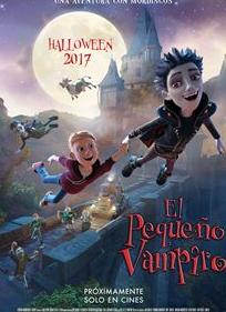 'El pequeño vampiro' filma, gaztetxoendako