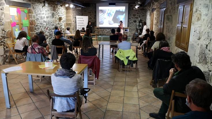 'Landa sortzailea' proiektuaren emaitzak aurkeztu dituzte Ibarraundi museoan
