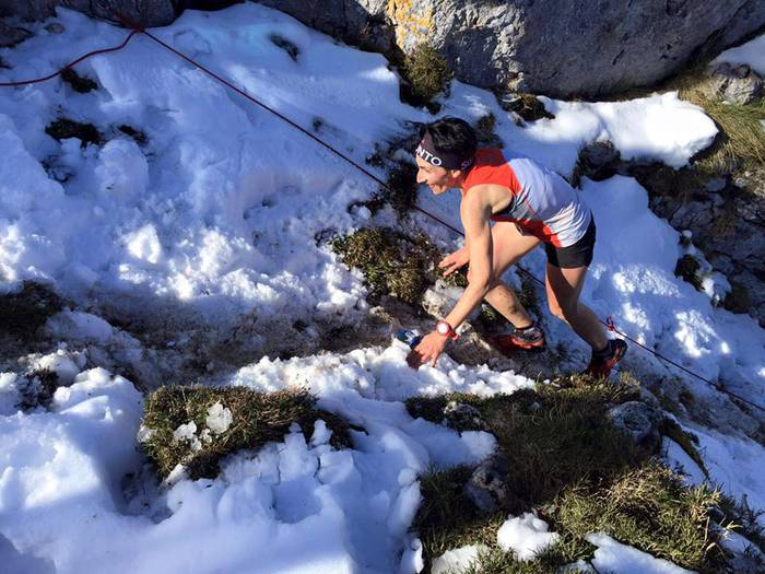 Cabralesko (Asturias) kilometro bertikala irabazi du Oihana Kortazar elgetarrak