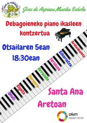 Piano jaialdia